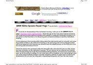BMW KBike Speedo Repair Page 1 by Jim Davis - Click ... - K100.biz