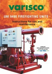 UNI 9490 FIREFIGHTING UNITS - Praktikpump.sk