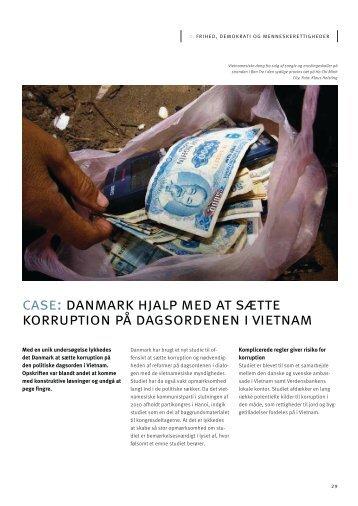 Danmark hjalp med at sætte korruption på dagsordenen i Vietnam