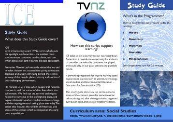 study guide ICE.pdf - Tvnz