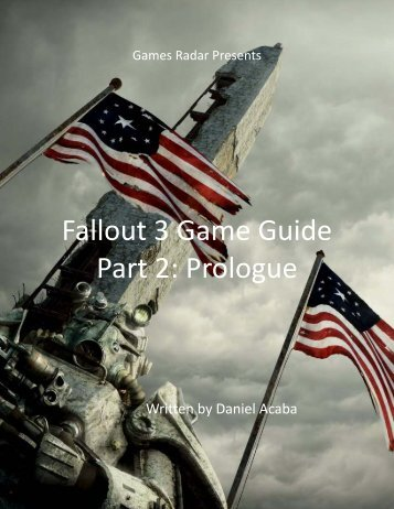 Fallout 3 Game Guide - Part 2: Prologue - GamesRadar