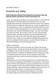 090429_Süddeutsche Online_CSx - Golf Valley GmbH
