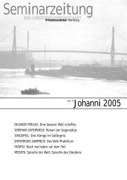 Nr.5 | 2005 - Priesterseminar Hamburg