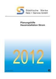 Planungshilfe Hausinstallation Strom - Netz plus Service GmbH