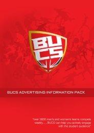 bucs advertising information pack
