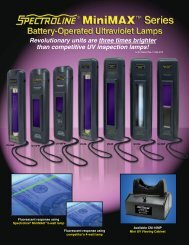Revolutionary units are three times brighter than competitive UV ...