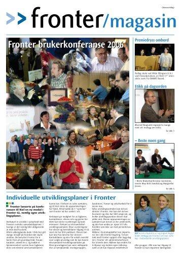 Fronter brukerkonferanse 2006