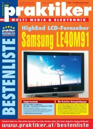 Samsung LE40M91: HighEnd LCD-Fernseher ... - HOME praktiker.at
