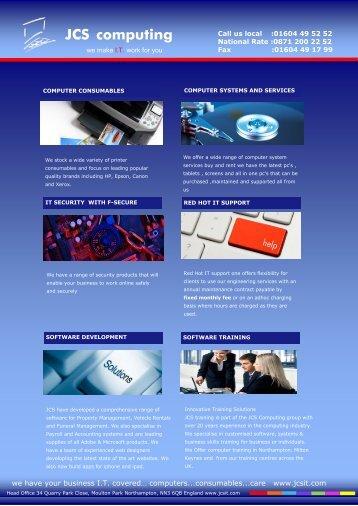 JCS computing - Jcsit.com