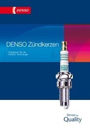 DENSO Zündkerzen - Denso Corporation
