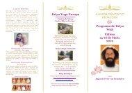 Kriya Yoga Europa A ANTIGA CIÊNCIA DO KRIYA YOGA Programa ...