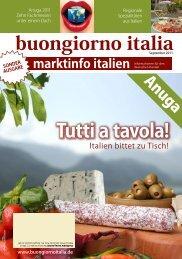 buongiorno italia Tutti a tavola!