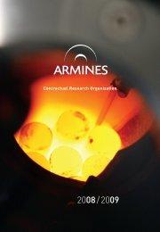 Contractual Research Organization - Mines ParisTech