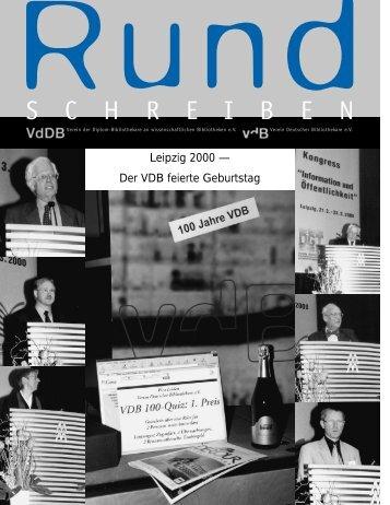 Leipzig 2000 - Verein Deutscher Bibliothekare