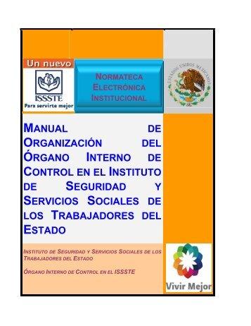 Metas Y Objetivos Del Organo Interno De Control Issfam