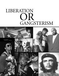 LIBERATION GANGSTERISM - Utopian