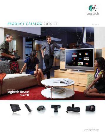 PRODUCT CATALOG 2010-11 Logitech - N2ONEPortal