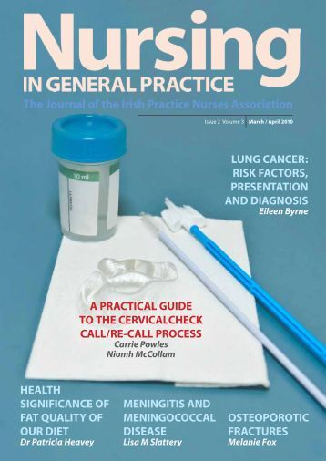 The Journal of the Irish Practice Nurses ... - Green Cross Publishing