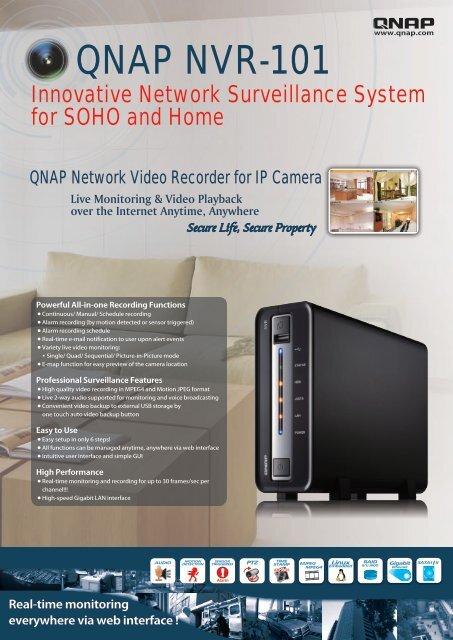 QNAP NVR-101 - Mnemmix IP
