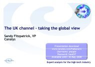 The UK channel – taking the global view - Magirus