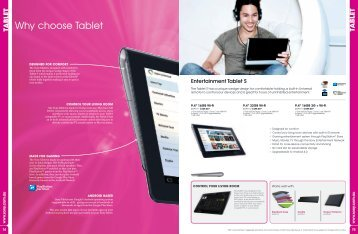 Why choose Tablet - Amazon Web Services