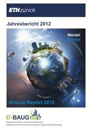 Annual Report 2012 - Departement Bau, Umwelt und Geomatik ...