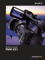 XDCAM EX, PMW-EX1