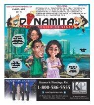 Enero, 2013 Ed. 15 Titulares - Dinamita Magazine