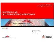 KASPERSKY LAB, LA LUCHA CONTRA EL CIBERCRIMEN - Magirus