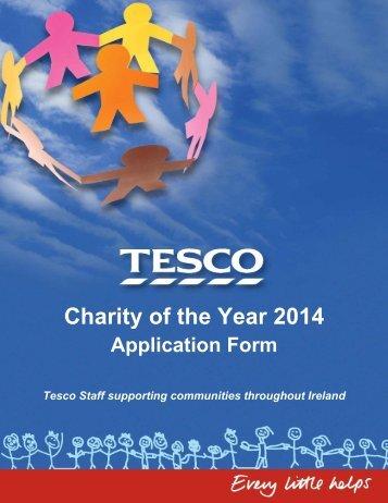 download form. - Tesco
