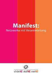 Netzwerke mit Verantwortung - studiVZ