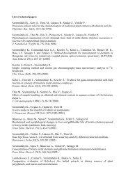 List of selected papers Szentmihályi K., Kéry Á., Then ... - MTA KK AKI