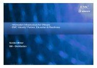 - Information Infrastructure for VMware - EMC Velocity2 ... - Magirus