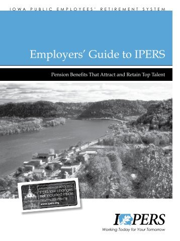 New Member Employers' Guide to IPERS