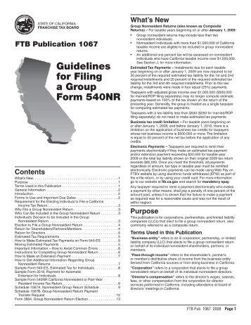 2008 Publication 1067