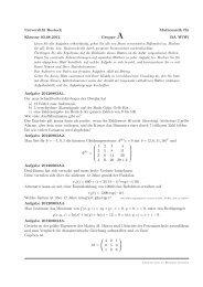 Universität Rostock Mathematik für Klausur 03.08.2012 Gruppe A ...