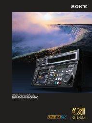 SRW-5000/5500/5800