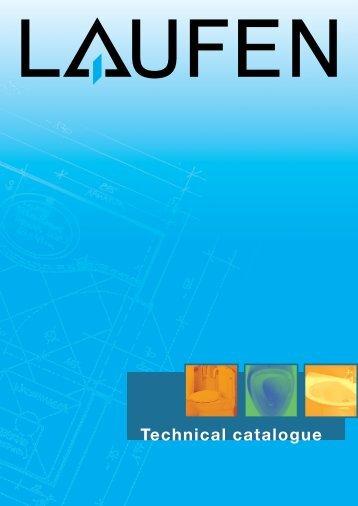 Technical catalogue LAUFEN