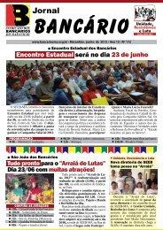 Jornal do Bancário - Ano 15 - Sindicato dos Bancários do Maranhão