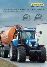 Tractores Serie NEW HOLLAND T7OOO Auto Command™