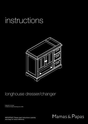 Longhouse Dresser - Mamas & Papas