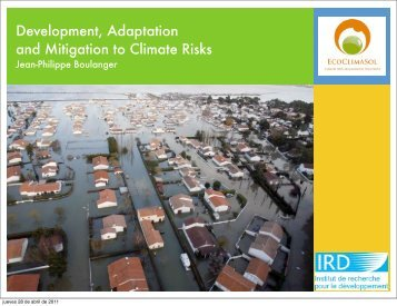Development, Adaptation and Mitigation to Climate Risks