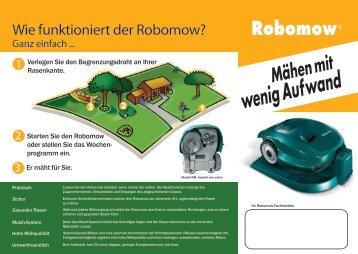 Wie funktioniert der Robomow?