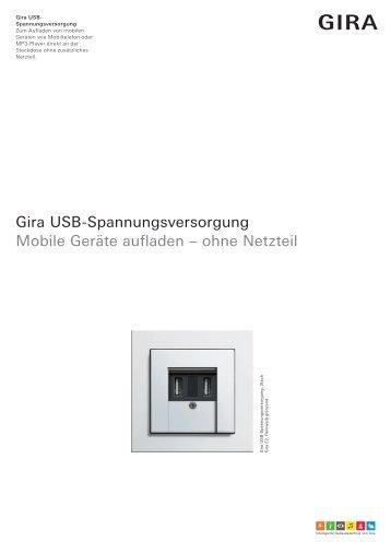 Gira USB-Spannungsversorgung - Avolta.de