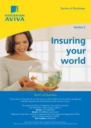 Terms of business - Aviva