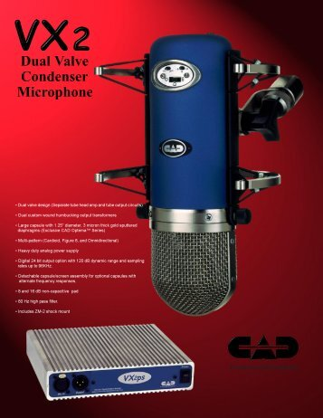 Professional Microphones - MIDI Manuals