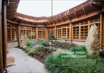 Ekologie, zdraví a estetika staveb - ARC Studio