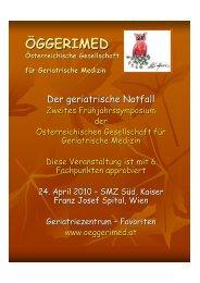 Programm 2. Frühjahrssymposium - oeggerimed.at