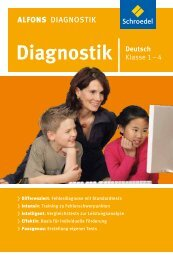 ALFONS Diagnostik Deutsch .................................... 1