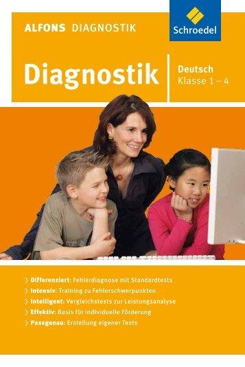 ALFONS Diagnostik Deutsch .................................... 1